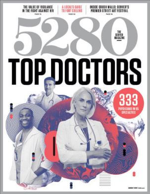 best plastic surgeons in Denver 5280 magazine cover
